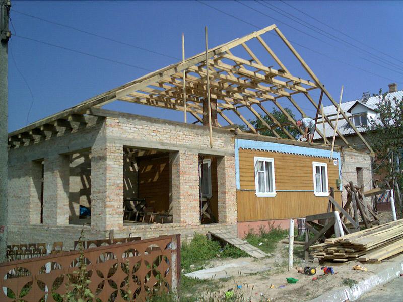 Как сделать новую крышу на старый дом 942