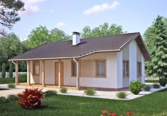Каркасный дом КР-012