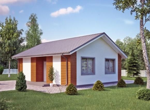 Каркасный дом КР-013