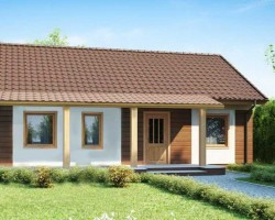 Каркасный дом КР-016