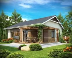 Каркасный дом КР-018