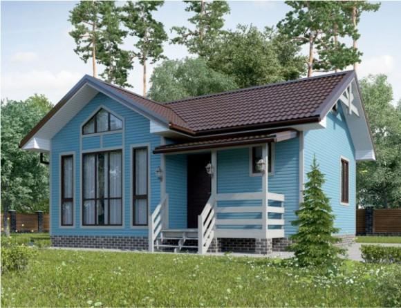 Каркасный дом КР-03