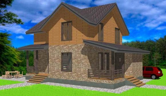 Каркасный дом КР-147