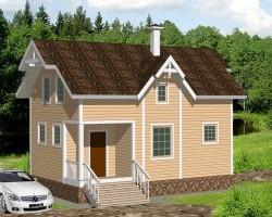 Каркасный дом КР-31