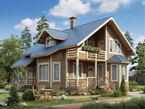 Каркасный дом КР-129