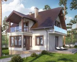 Каркасный дом КР-39