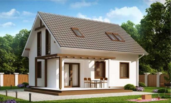 Каркасный дом КР-35