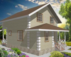 Каркасный дом КР-149