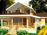Каркасный дом КР-140