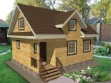 Каркасный дом КР-8