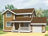 Каркасный дом КР-112