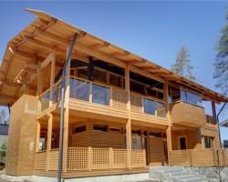 Каркасный дом КР-0011
