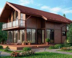 Каркасный дом КР-0012