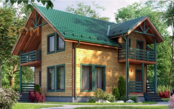 Каркасный дом КР-122