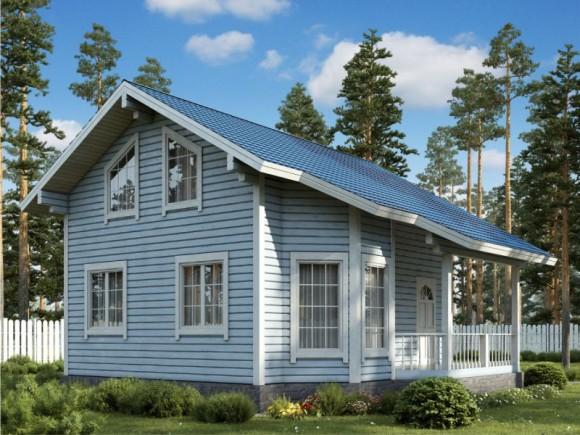 Каркасный дом КР-131