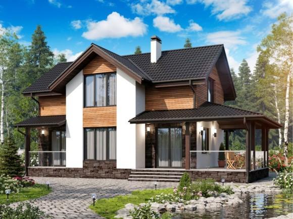 Каркасный дом КР-6