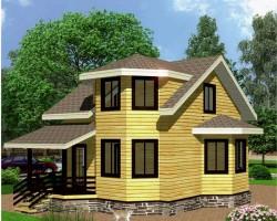 Каркасный дом КР-22