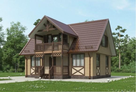 Каркасный дом КР-30