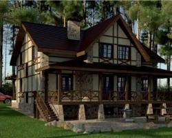 Каркасный дом КР-210