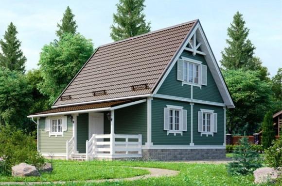 Каркасный дом КР-18