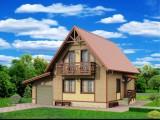 Каркасный дом КР-20