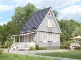 Каркасный дом КР-24