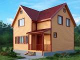 Каркасный дом КР-2