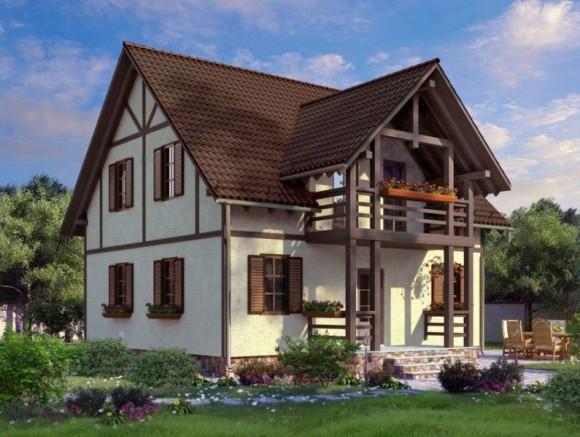 Каркасный дом КР-3