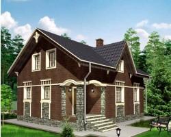 Каркасный дом КР-104