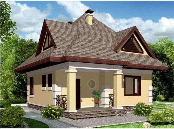 Каркасный дом КР-118