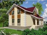 Каркасный дом КР-121