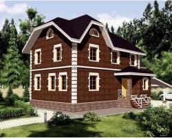 Каркасный дом КР-124