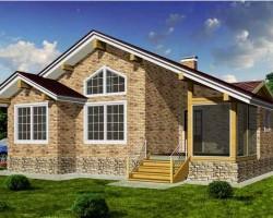 Каркасный дом КР-126